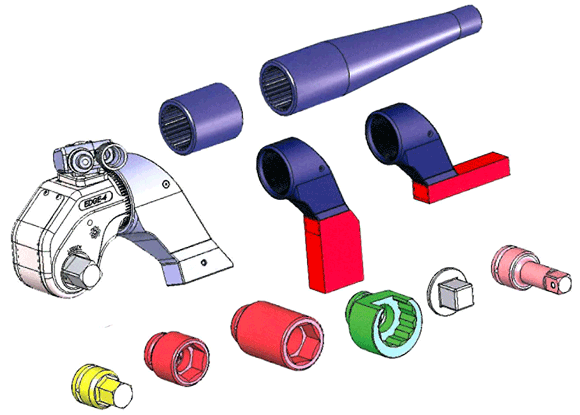 EDGE-Torque-Wrench-Exploded-View