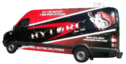 Hytorc Northwest Services Repair Van
